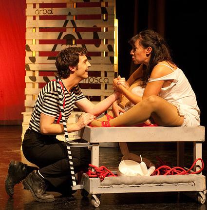 Fando Lis Fernando Arrabal Juan Fleta Marity Manzanera Silencio Danza Silenciodanza Compañia teatro Nieves Rosales